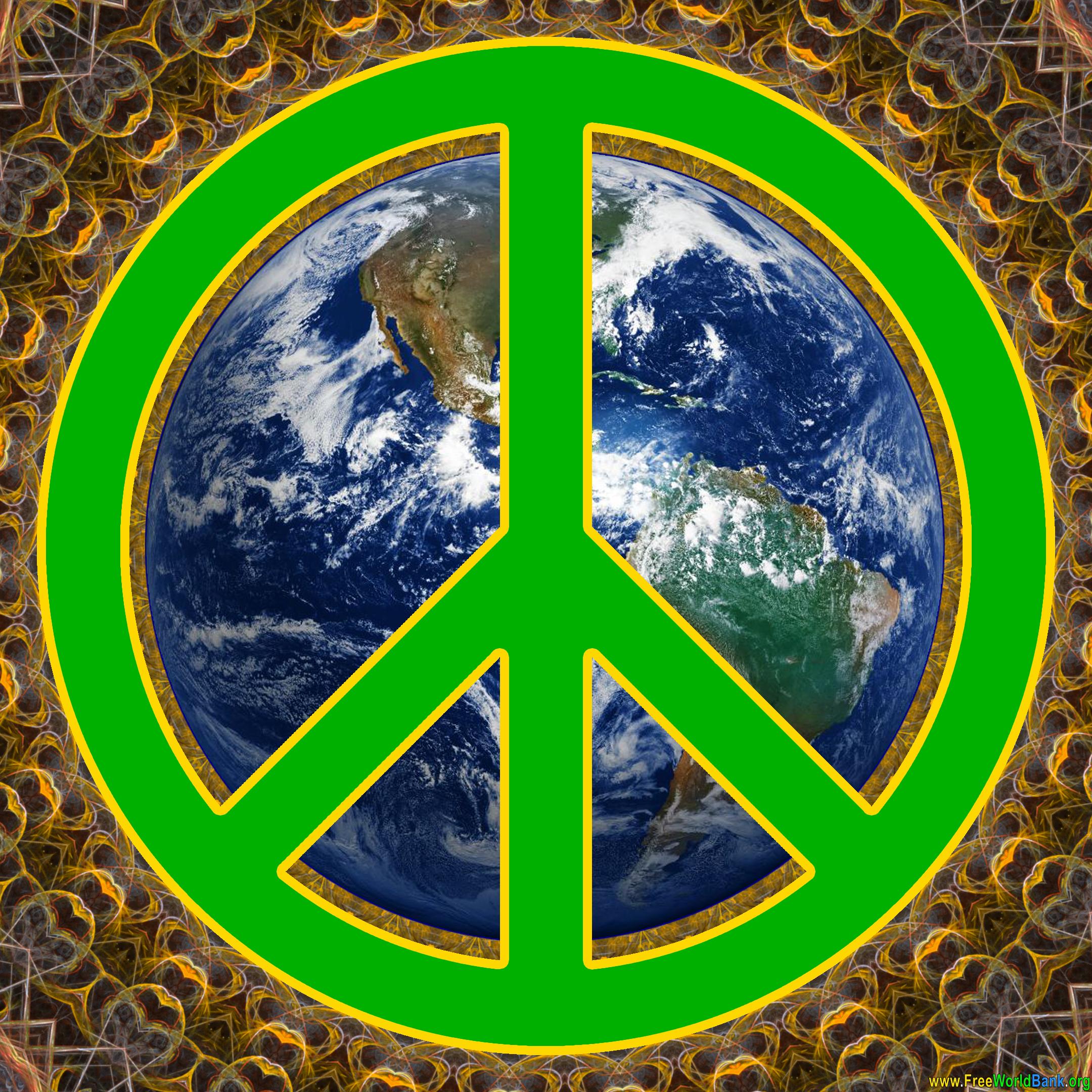 World Peace Sign